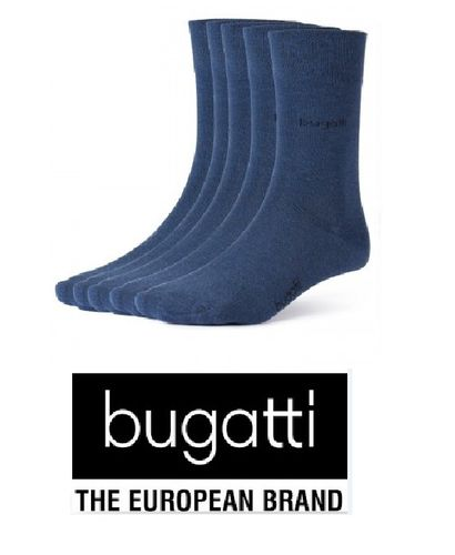 bugatti - Business Socken - 3er Pack - jeansblau